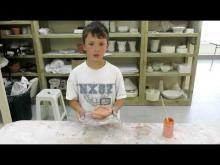 Video on clay firing